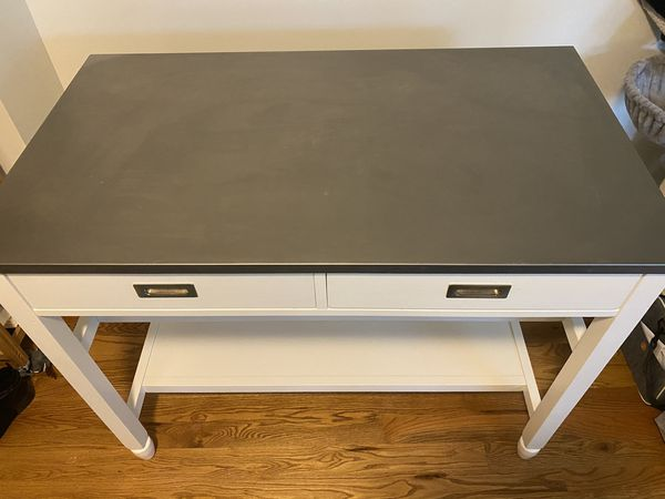 Crate and Barrel kitchen island for sale