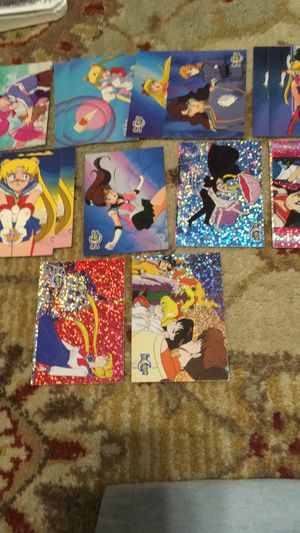 Sailor moon series 1 and 2 trading cards for Sale in San Antonio, TX
