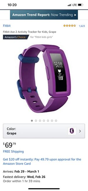 Fitbit Ace 2 for Sale in Houston, TX