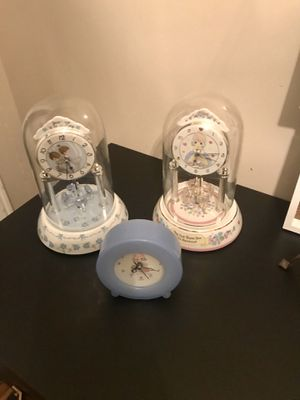 Precious Moments Collectible Clocks (see desc for pricing) for Sale in Sandy, UT