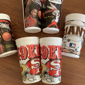 Vintage Cups $10 For All 6 Good Shape for Sale in Richmond, CA