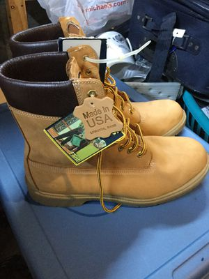 Flint Men's work boots size 12 for Sale in Middleton, MA