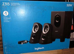 Logitech Speaker System with Subwoofer for Sale in Gardena, CA