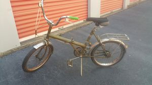 Image Raleigh folding bike 16 inch 3 speed 1970s for Sale in Marietta, GA