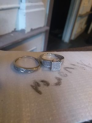 10k wedding band and engagement ring for Sale in Hamden, CT