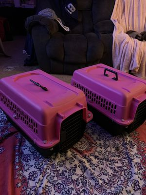 2 Pink Pet CARRIERS BUY 1 or both for Sale in Winchester, VA