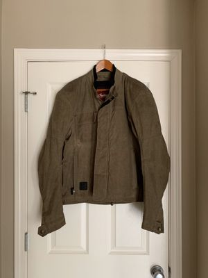 Indian motorcycle waxed cotton jacket for Sale in Portland, OR