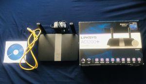 Linksys AC1200+ EA6350 Smart WiFi router for Sale in Las Vegas, NV