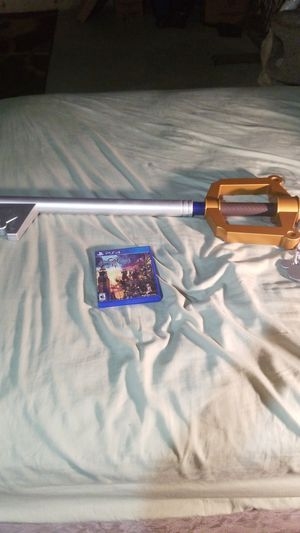 Kingdom hearts keyblade/ kingdom hearts 3 for Sale in Imperial, MO