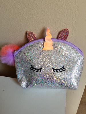 Unicorn pencil pouch for Sale in Davenport, IA
