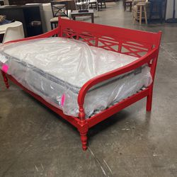 Red Indonesian Day Bed for Sale in San Diego,  CA