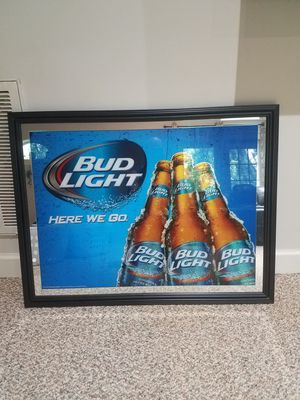 Bud light picture frame for Sale in Mt. Juliet, TN