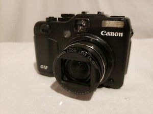 Canon PowerShot G12 10.0MP 2.8''Screen 5x Zoom Digital Camera w/ Battery for Sale in Seattle, WA