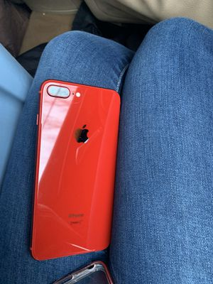 iPhone 8 Plus red for Sale in Dexter, ME