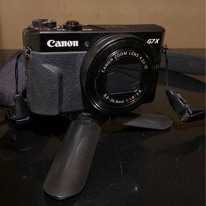 Canon G7X Mark II Camera for Sale in Southbridge, MA