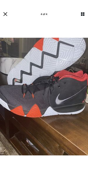 Nike Kyrie 4 White Red Size 18 943806 005 for Sale in Columbus, OH