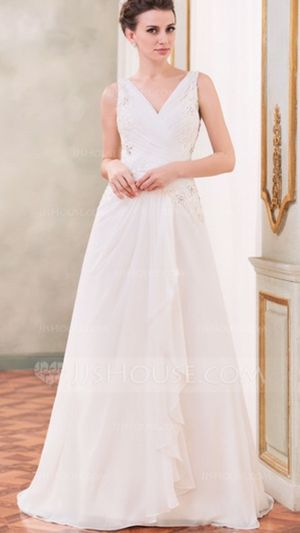 Wedding Dress - full length for Sale in Huntington Beach, CA