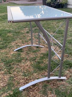 Glass Modern Medium Size Desk (Work Or School Use) for Sale in San Gabriel,  CA