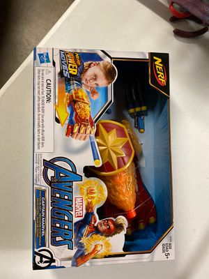 Brand new nerf captain marvel glove gun for Sale in Ramona, CA