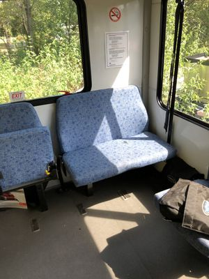 Bus chairs and luggage rack for Sale in Azle, TX