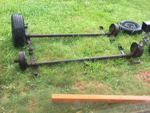 Tandem trailer axles for Sale in Gold Bar, WA