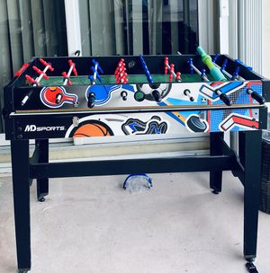 Ping pong,fulbito and air hockey table for Sale in Fort Lauderdale, FL