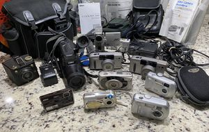 Lot of Cameras, Video Camera , Camera Case for Sale in Margate, FL