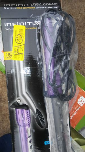 3/4 Infiniti pro curling irons for Sale in NC, US