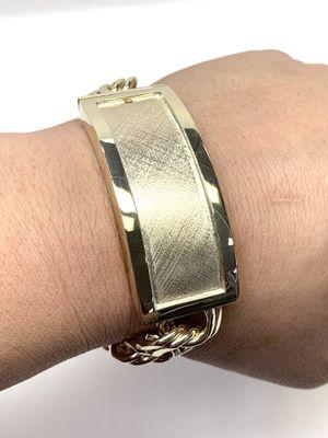 10 K Gold Chino link bracelet Custom made #776TD for Sale in Houston, TX