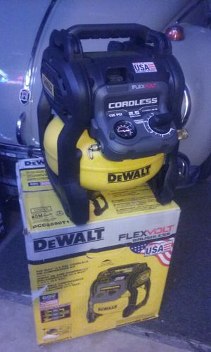 Dewalt flexvolt brushless compressor TOOL ONLY price is firm no lowballers please no trades for Sale in Fontana, CA