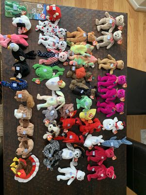 Beanie Babies — Zoom in on pictures to see labeled prices for Sale in Danville, CA