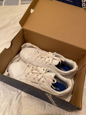 Reebok white sneakers for Sale in Raleigh, NC