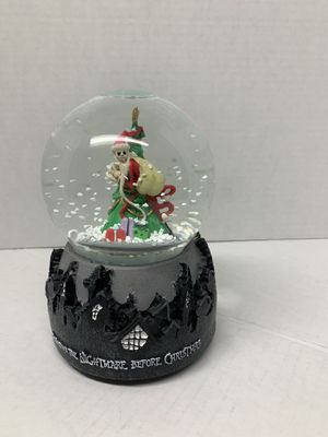 Nightmare before Christmas jack Santa snow globe for Sale in Lombard, IL