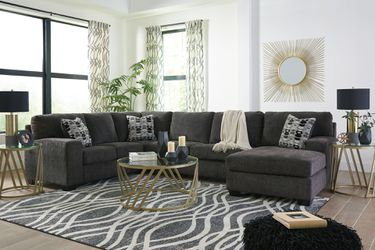 🔥New! Grey SUPER comfy sofa chaise sectional w/pillows for Sale in Escondido,  CA