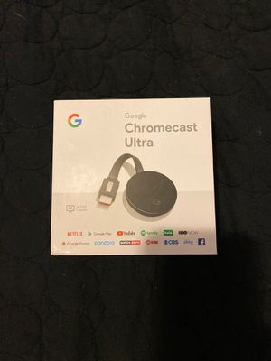Google Chromecast ultra for Sale in Philadelphia, PA