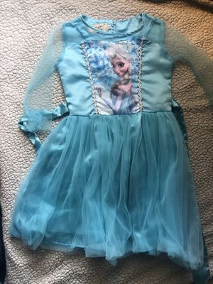 Size 6-7 Elsa dress / costume for Sale in Anaheim, CA