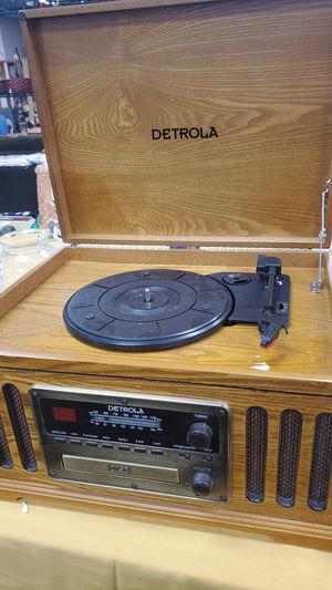 Retro Record Player, Radio and CD for Sale in Escondido, CA