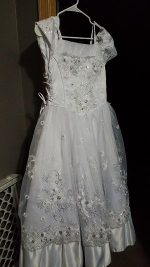 White dress for communion confirmation or baptism size 12 for Sale in Chicago, IL