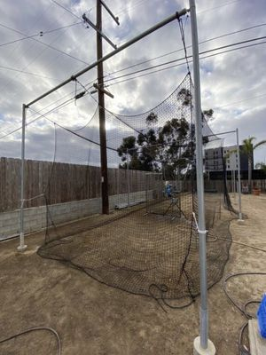 Costum HEAVY DUTY Batting Cage for Sale in San Diego, CA