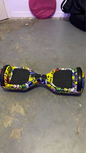 Custom Hoverboard with Bluetooth and LED lights for Sale in Spring Hill, FL