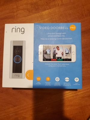 Ring Video Doorbell Pro for Sale in Houston, TX