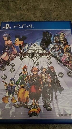 Kingdom Hearts 2.8 PS4 for Sale in Patterson, CA