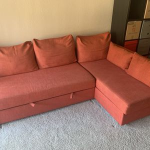 Ikea Sleeper Sectional With Storage for Sale in Brea, CA