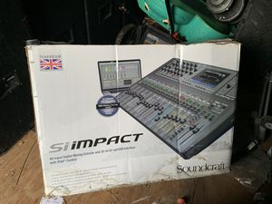 Siimpact music mixer for Sale in Sebastian, FL
