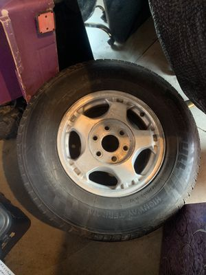"16"" GM 6 lug oem wheels and tires for Sale in Pismo Beach, CA"