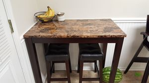 Table and 2 stools for Sale in Manassas, VA