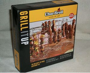 CHAR-BROIL THE BIG EASY 22-PC POULTRY, KABOB, RIBS FRYER ACCESSORY KIT for Sale in South El Monte, CA