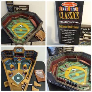 Melissa and Doug past tyme table top baseball game set New for Sale in Waterbury, CT