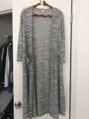 LuLaroe SIZE SMALL GRAY SARAH SWEATER for Sale in Gainesville, VA