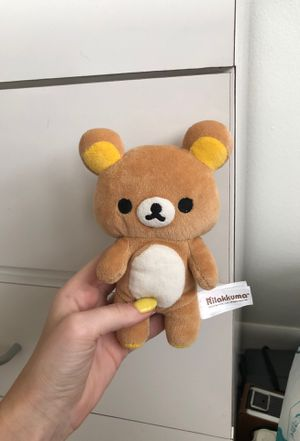 Rilakkuma Bear Plushie for Sale in New Port Richey, FL